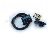 Mini Hodiny 12 V modré podsvícení - 221000321800