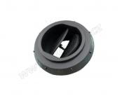Výdech regulovatelný černý  60 mm  9012300