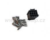 Svorkovnice 12 pólová vč. pinů k modulárním hodinám Webasto Eberspacher - 88191 B